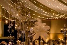 Rachel and Bertie - Lighting and venue dressing