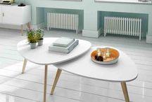 Nordisk design / Nordisk stil, møbler, stuebord tv-benk, benk, skjenk