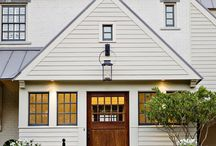 Exterior Design: Charming House Attributes / by Amelia Bartlett