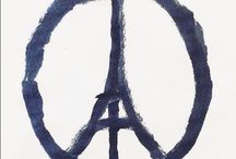 Hope for it / Peace / We need to promote humanity, peace and communication between cultures more than ever before. We cannot give in to hatred and terror.