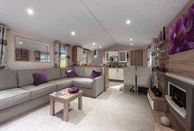 Modern mobile home . Moderne hus vogner .