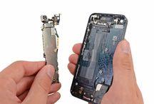Sustitución de la placa lógica del iPhone 5 / Para sustituir la placa lógica del iPhone 5, siga los pasos siguientes.