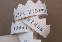 Party ♥ birthday crowns / by Veronique Senorans Osorio / Pichouline