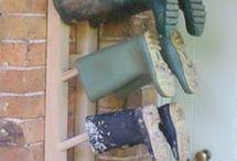 Gum boots storage