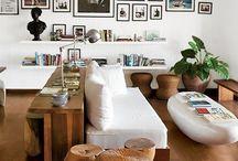 Separar ambientes con sofás