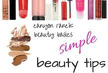 Beauty tips / by Debbie Self Billups
