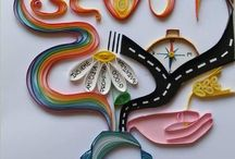 Quilling art / Quilling, home decoration