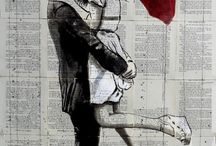 Popular wall art- collage style