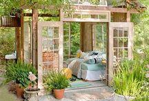 trädgårds ideer