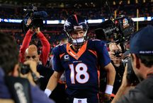 Peyton Manning / and people think loud, spotlight hoggers are the only ones who make history / by brooklyn b♛