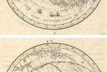 Globusy kompasy mapy