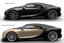 Fast cars / Bugatti and Ford Mondeo