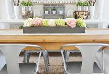 """Dining Rooms / """"The fondest memories are made when gathered around the table."""""""