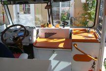 Ice cream truck interiors