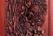 Tar Ildikó Textilművészet / Tar Ildikó aranykéz díjas képzőművész, TikoTex textilszobrász oktató alkotásai. Textil kisplasztikák, szobrok, ajándéktárgyak, lakásdekorációk, kövesített textil technikával. Workshop minden korosztálynak.