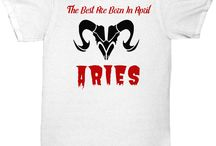 The Best Are Born In April ARIES RAM T-SHIRT birthday