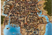 Maps Inspiration for Fantasy Worlds
