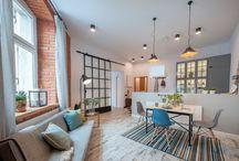 projektowanie wnętrz / Projekt, aranżacja i realizacja wnętrz mieszkań prywatnych.