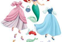 Paper Dolls Ariel