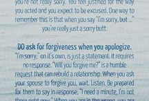 Sorry apology
