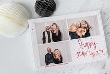 photobooth holiday template