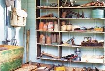Potting sheds or tables / by Nancy Faircloth
