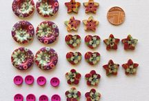 Buttons & Bows / A collection of buttons, button inspired makes and pretty bows x
