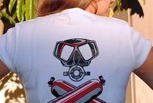 t shirt diving