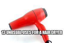 handful tips with hairdryer