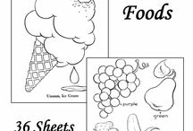 food colouring pages