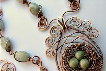 Jewelry - wire nest
