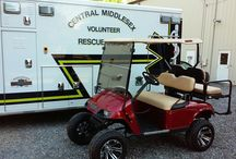 Central Middlesex Volunteer Rescue Squared 2016 Raffle Golf Cart