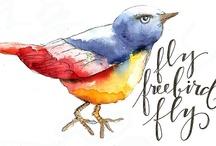 Acquarelli e colori (watercolor wings)