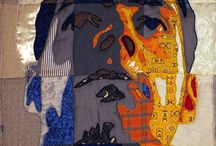 Luke Haynes / Quilt patterns, art quilts, man quilts, guy sewing all by quilt artist Luke Haynes