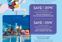 Disney promotions / This board will show you information on all the latest Disney promotions.