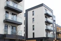 bouwblokken appartementen
