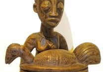 African Artifacts / After much travel and research, Kim Sacks has a vast knowledge of African craft. The rich earthy aesthetics are definitive of the gallery's atmosphere.