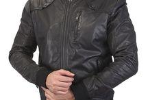Black Leather Jacket / Buy Black Leather Jacket for Men Online at Best Price at Voganow.com