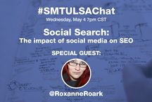 SMTULSACHAT / We're so excited to start our very own chat. Join us as we share knowledge bombs on Twitter.  In true SMTULSA fashion, we'll also host some live events around our chats.