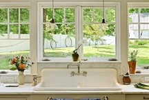 Farm sink ideas / by Sarah Rosenblum