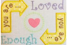 Embroidery Word Art / Machine Embroidery Designs Using Word Art