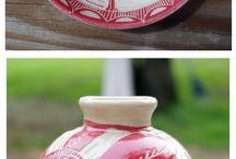 Pottery ♣ Sgrafitto
