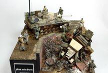 Dioramy WW II