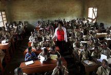 Fotografias de salas de aula