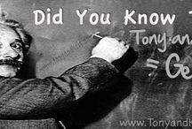 Random Facts / by Tony Kris