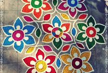 Rangoli Designs / Traditional Indian Rangoli Designs
