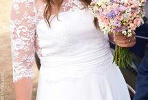 Our wedding | Nuestra boda / Todos los detalles de nuestra boda, el vestido y la decoración. Hecho todo por nosotros