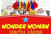 Super hero birthday theme