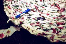 Rag rugs DIY/Rugs / by Nancy Riley