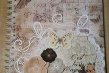 caderno decorados